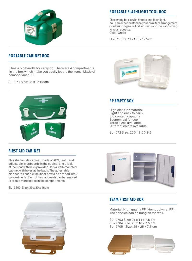 Wholesale Professional Box PP Plastic Storage Case with Handle