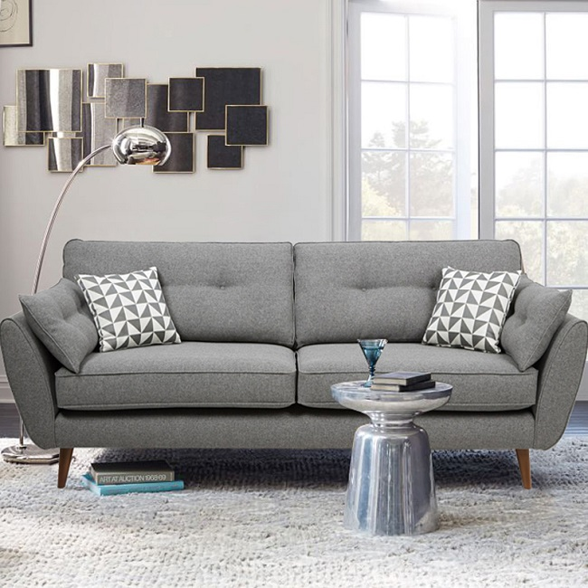 Northen European Style New Design Simple Living Room Furniture Modern Fabric Sofa