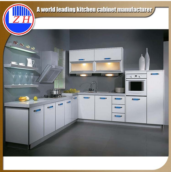 Easy Installed Kitchen Cupboard with Countertop (China factory directly)