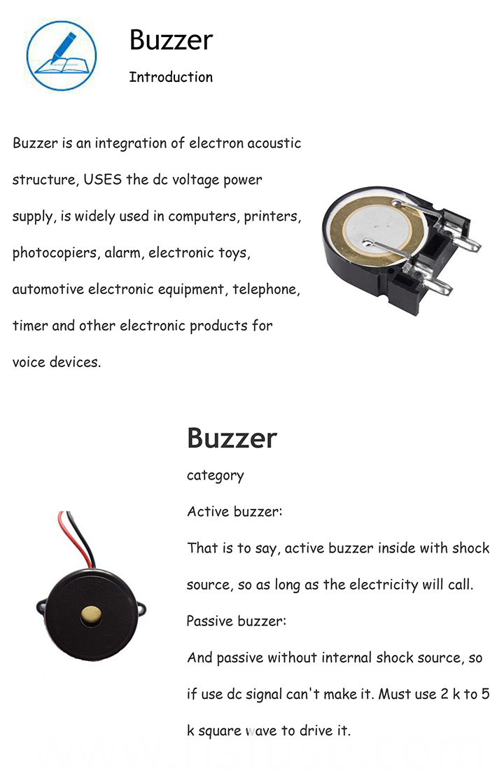 Good Quality Buzzer with Remote Control