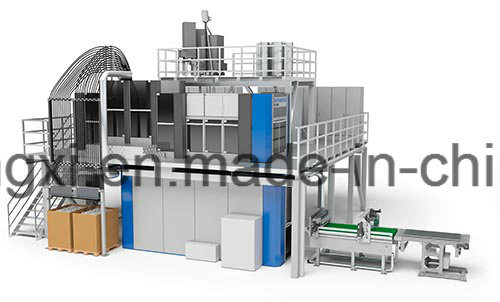 Vulcanizing Press for Rubber Synthetic Rubber Production Line 3600 Ton