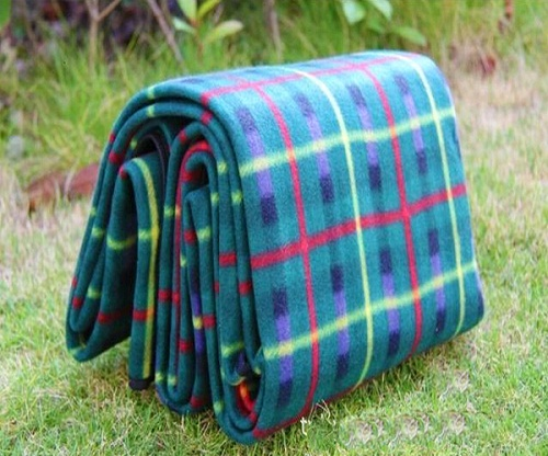 People Camping Oxford Cloth Slip Cushion Picnic Mat