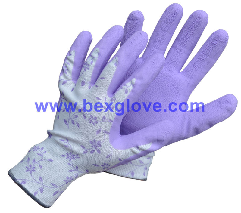 Latex Pretty Garden Glove