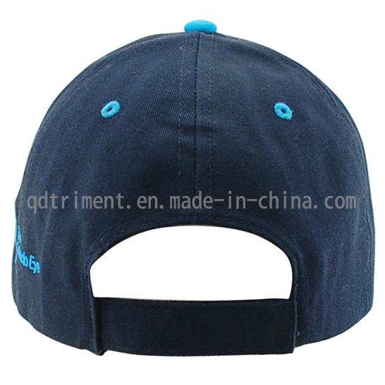 Screen Print Embroidery Cotton Twill Golf Sport Cap (TMB0824)