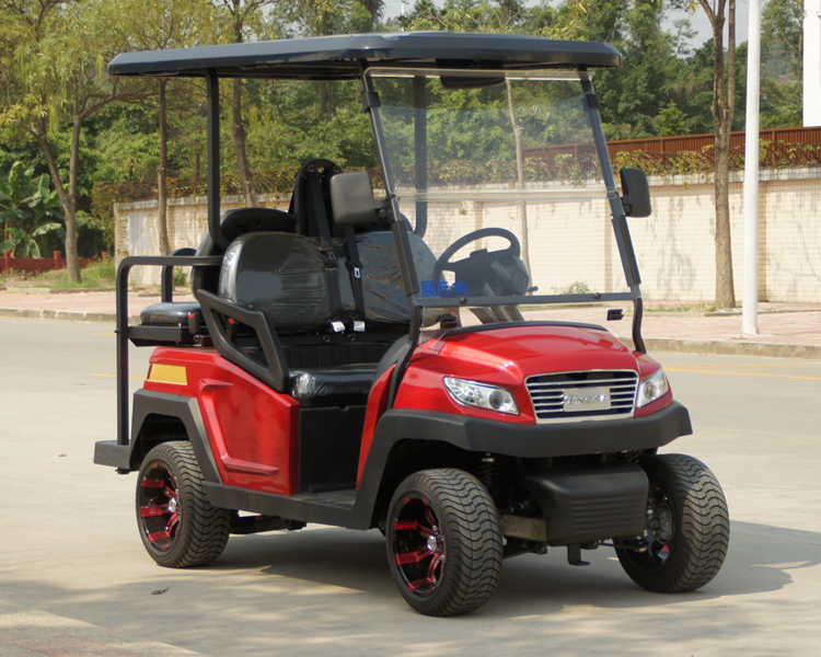 New Design 4 Seater Electric Golf Buggy with Foldable Seat