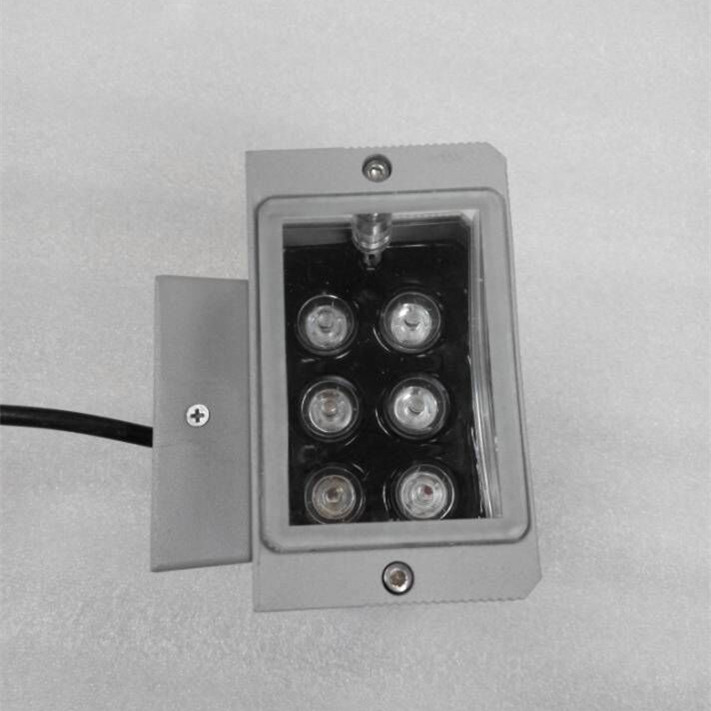 Aluminum Body Toughened Glass LED Outdoor Wall Light