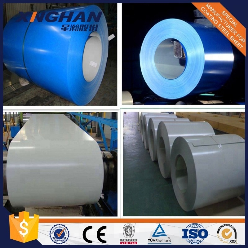 color coated steel coil PPGI