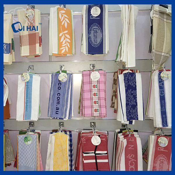 100% Cotton Yarn Grip Scotland Kitchen Towel (QHKG6650)