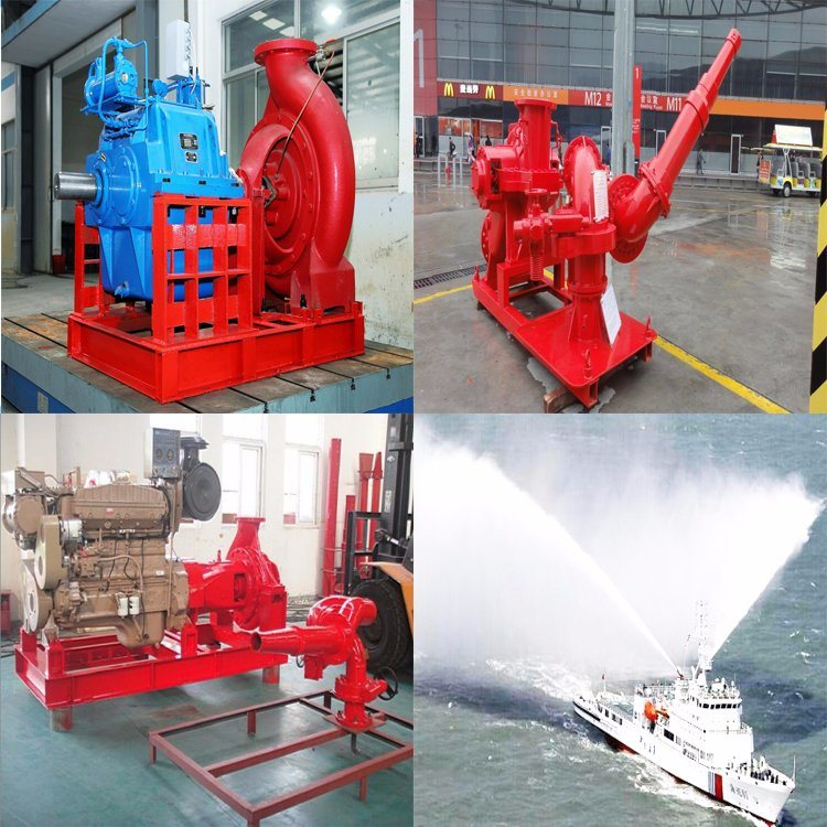 Electric Fire Monitor for Marine Fire Fighting