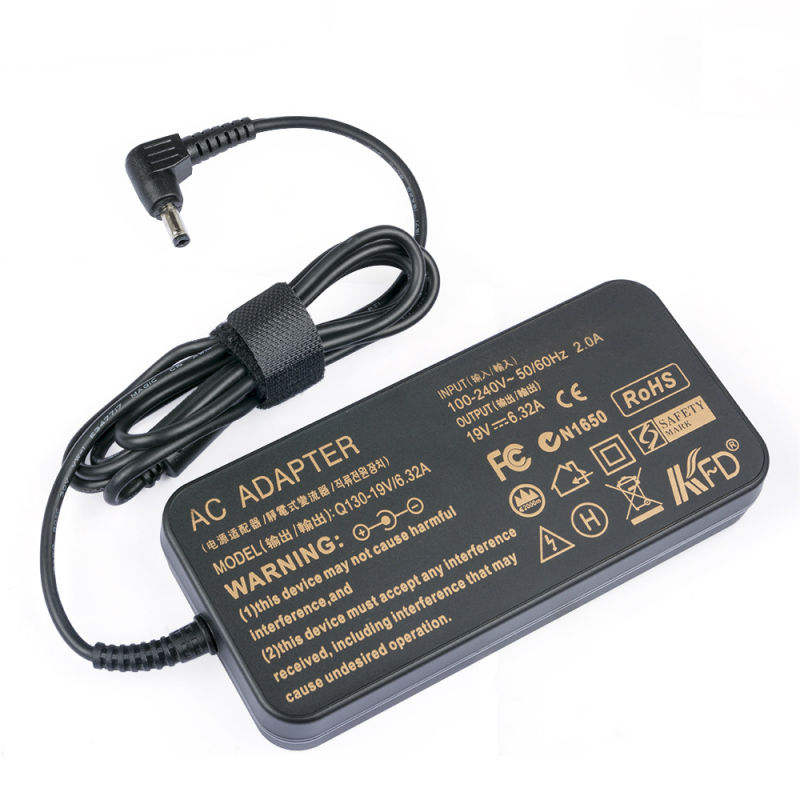 120W 19.5V 6.15A AC Adapter Cord for HP Envy 15t-Q100 CTO Laptop
