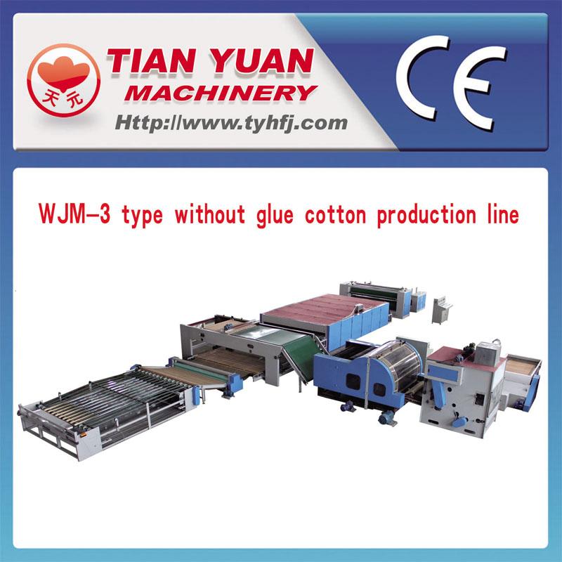 Nonwowen Wadding Making Production Line