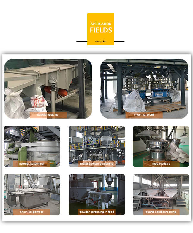 Stainless Steel Single Deck Sand Linear Vibrating Screen