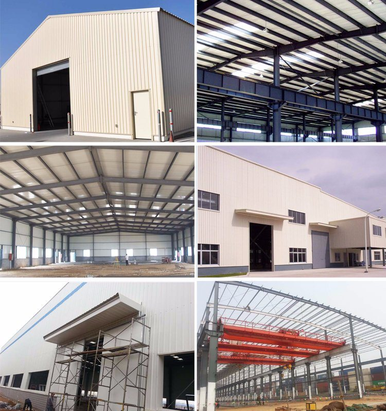 Prefabricated/Prefab Light Steel Space Frame Club-House H Beam Structure