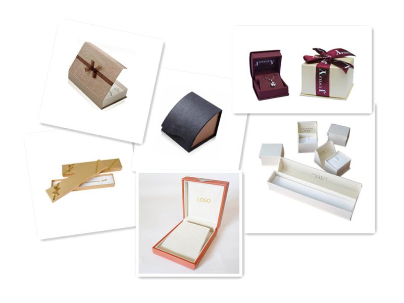 Fashion Fancy Paper Jewellry Packaging Box