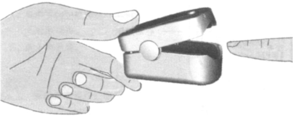 Medical Finger Oximeter for Measuring SpO2 and Pr Value (OLV-80b)