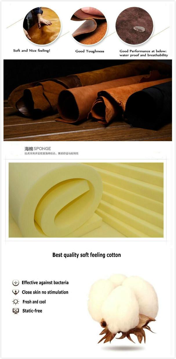 1 Cbm Per Set Office Sofa, Steel Frame Leather Sofa (6927)