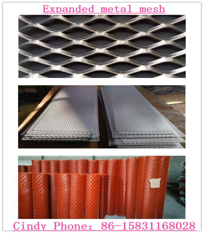 Expanded Metal Mesh Rolls and Panel 1.5mx15m