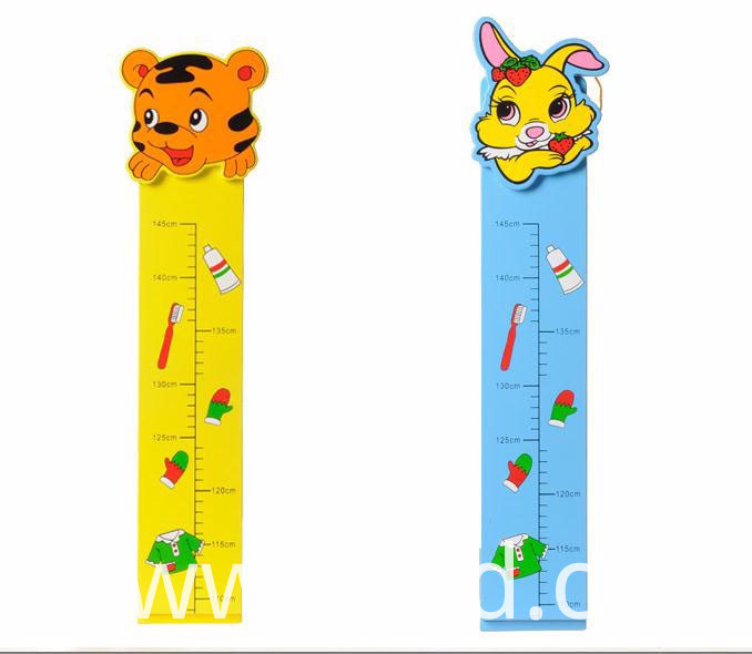 Measure Height Feet Wood Toy