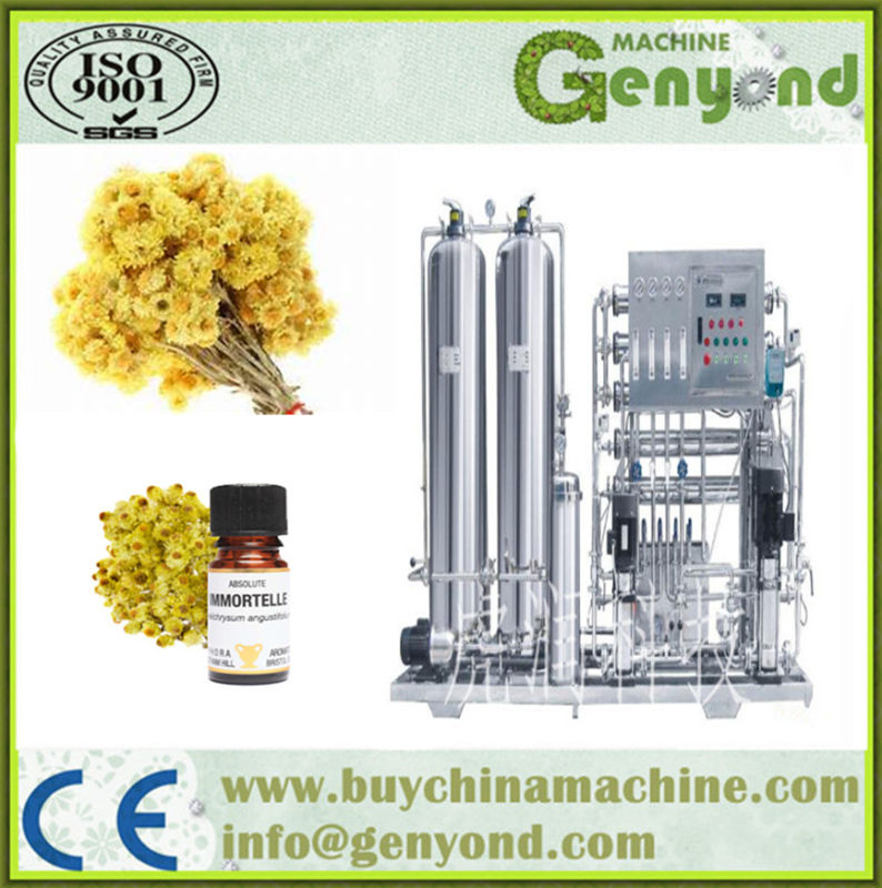 Immortelle Essential Oil Extraction Equipment for Sale