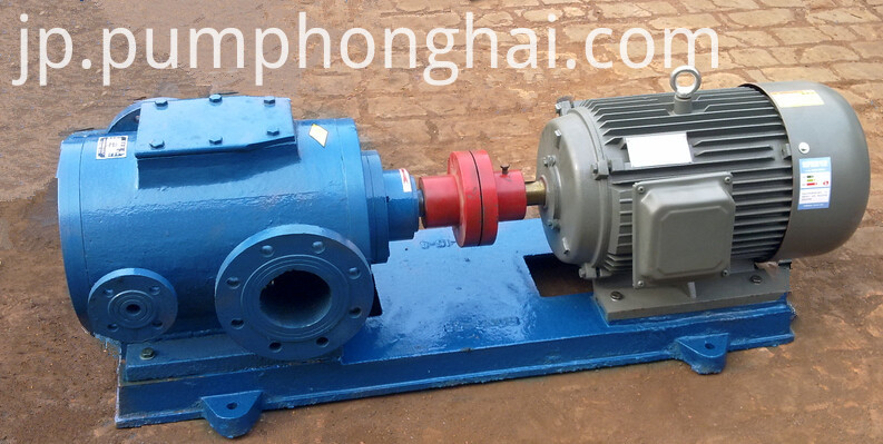 Three Screw Asphalt Bitumen Oil Fuel Transfer Pump