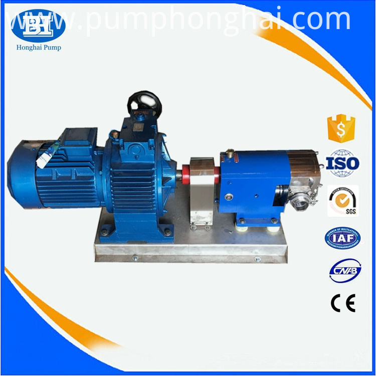 milk transfer pump