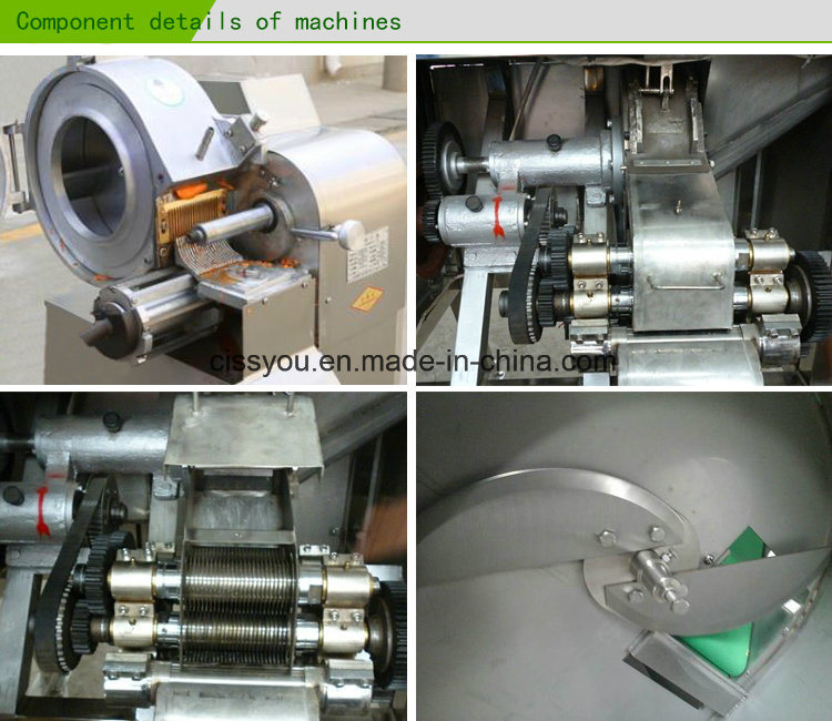 Multi China Root Vegetable Fruit Slicer Strip Cutter Chopper Machine
