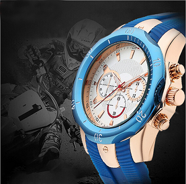 Newest Mold Japan Movement Silicon Fashion Sport Watch