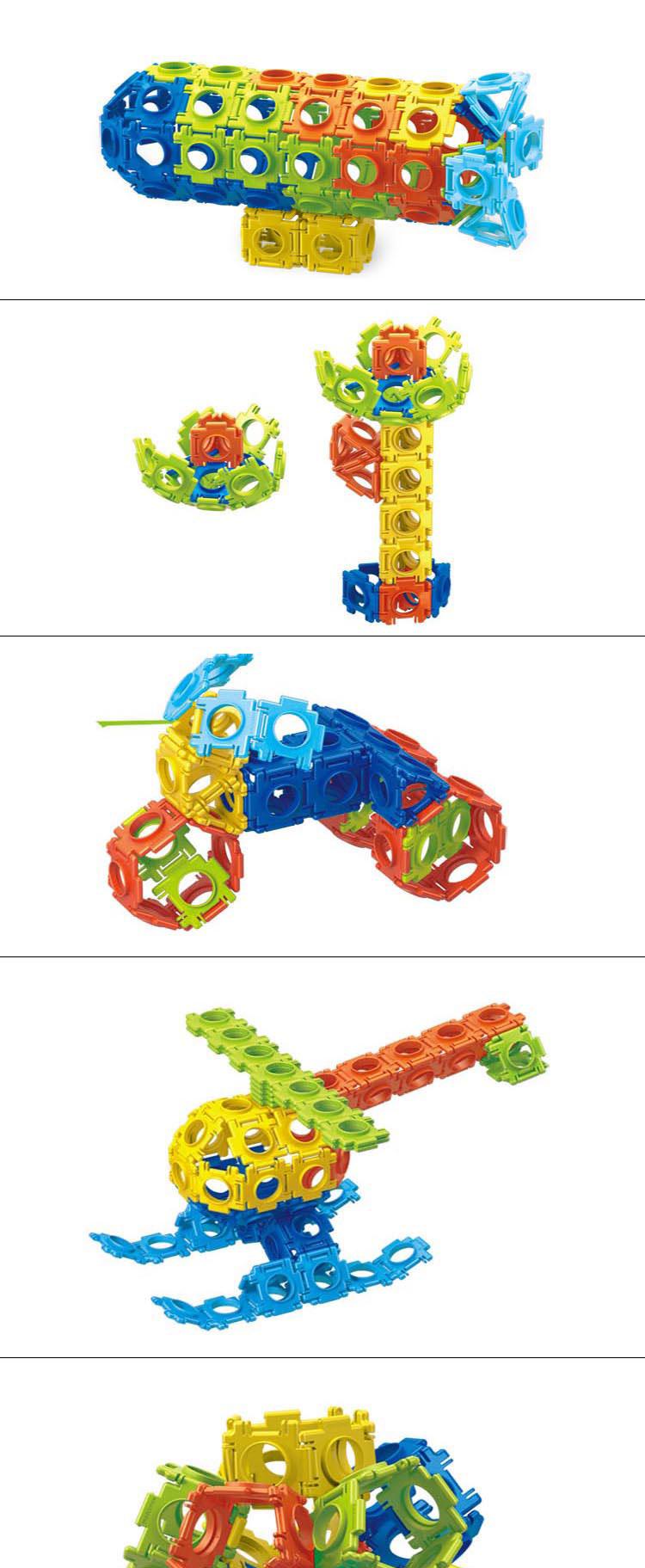 En71 Approval 120PCS Educational Toys Children Building Block Toys (10274042)