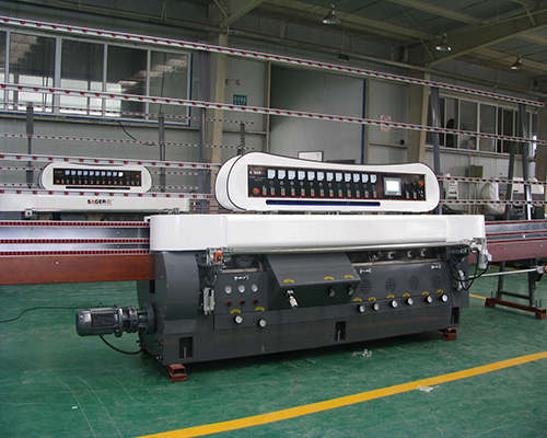 PLC Control Glass Edging Machine
