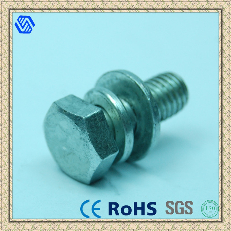 Outer Hexagonal Bolt with Washers
