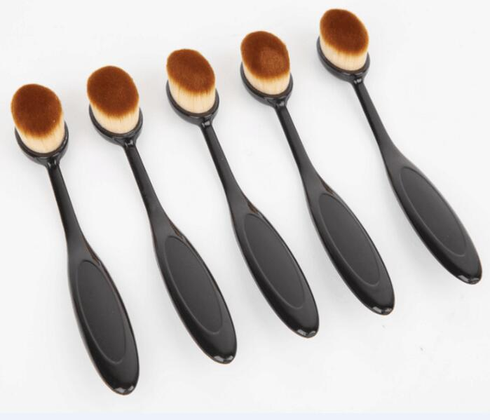 Best Sell No. 4 Toothbrush Makeup Brush Oval Foundation Brush Oval Powder brush