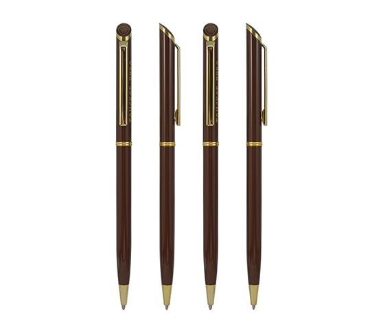 Thin Elegant Metal Roller Pen Office Supply Gift