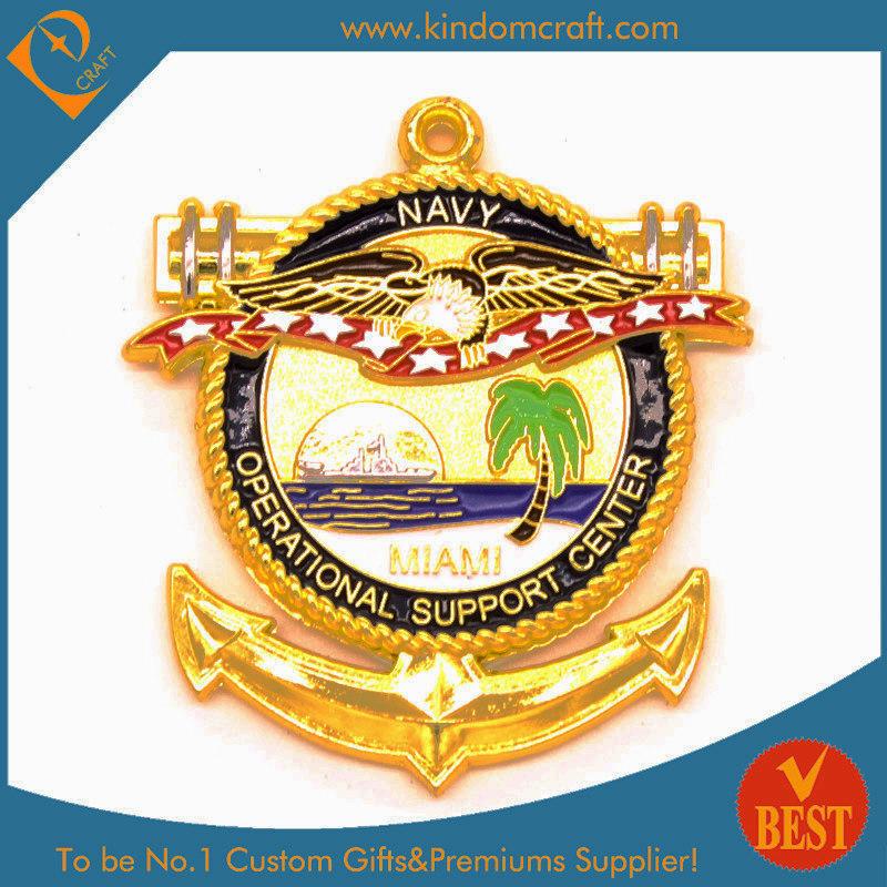 Ancient Navy Logo 3D Souvenir Coin