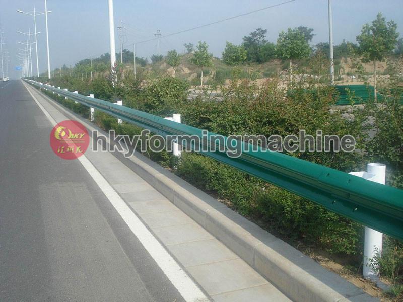 Freeway Guardrail Roll Forming Machine