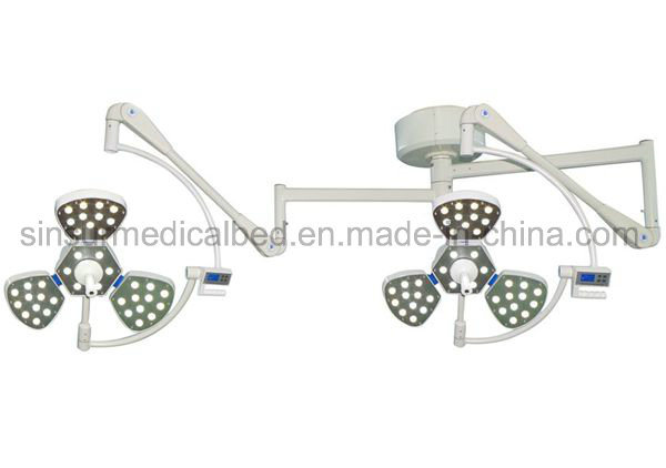 Hospital Medical Ot Double Head LED Ceiling Operation Surgical Lamp/Light