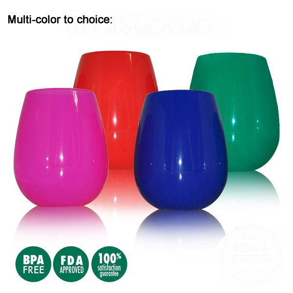 Portable Silicone Wine Cups