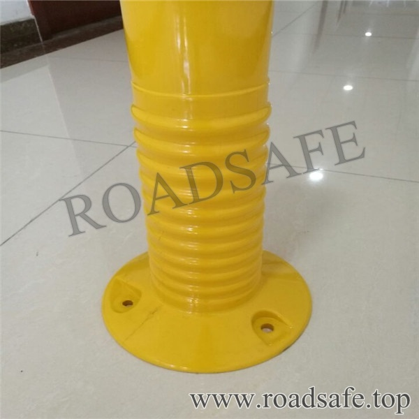 Road Safety Flexible PU Screw Thread Sign Post