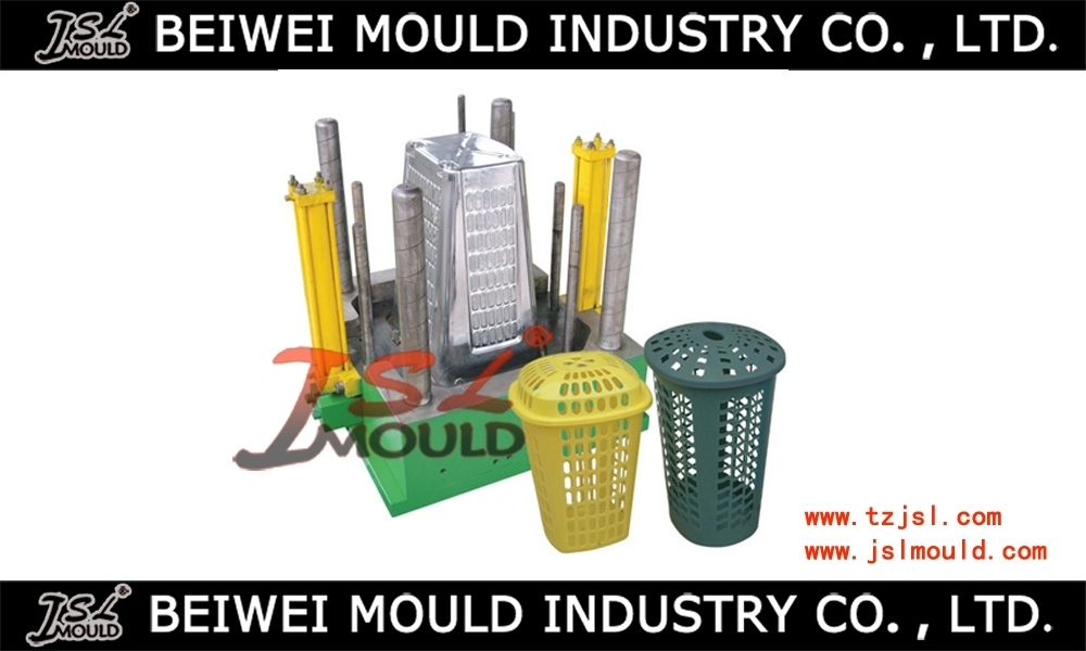 High Quality Injection Plastic Laundry Basket Mould