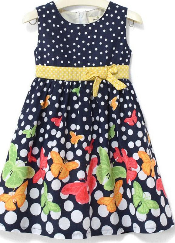 Fashion Girl Vest in Children Girl T-Shirt with Print Cake (SV-020)