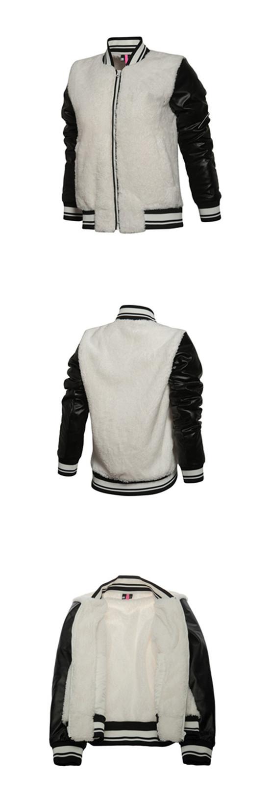 Latest Fashion Design Warm Fleece Winter Women's Jacket