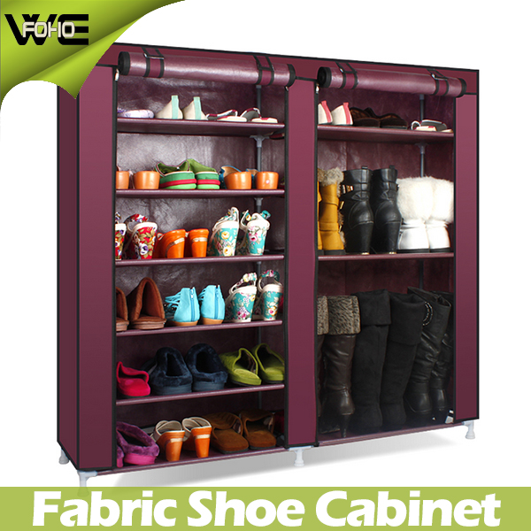 Cheap DIY Design Display Non Woven Portable Shoe Storage