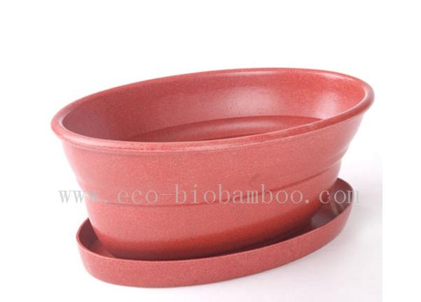 Bamboo Fiber Flower Pot (BC-F1008)