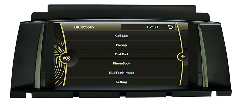 Car DVD Player for BMW X3 E84 GPS Navigation (HL-8827GB)
