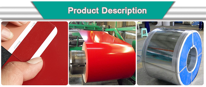 Prime PPGI Color Coated Prepainted Galvanized Steel Coil