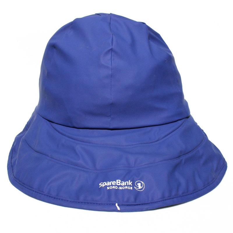 Dark Blue PU Rain Hat /Rain Cap/Raincoat for Adult