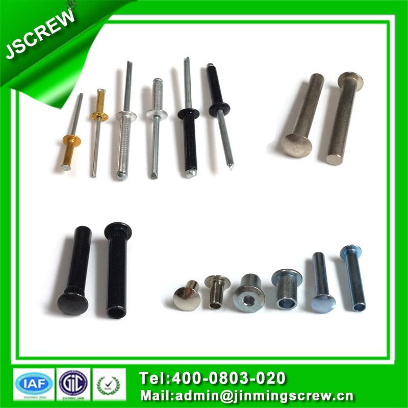 Stainless Steel Semi-Hollow Tubular Rivet