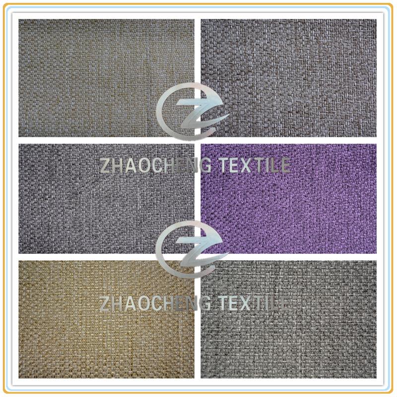 100% Poly Dimity Bonded Sofa Fabric (ZCCF054)