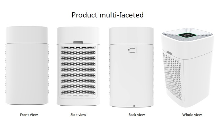 Potable Newest Design with HEPA Filter Air Quality Purifier Pre-Filter with WiFi Function Home Office Hotel Use    Air Purifier From Shenzhen Factory
