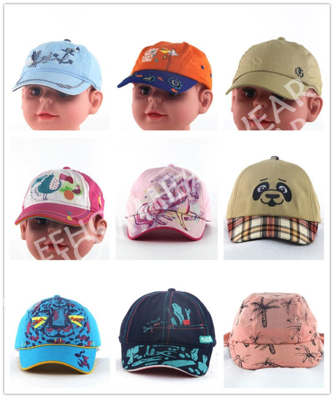 Fashion Colorful Print Children Baby Kids Hats