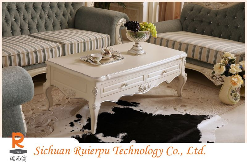 European Style Living Room Fashion Furniture Coffee Table